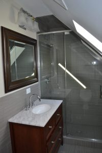 Attic Bathroom - Chicago IL