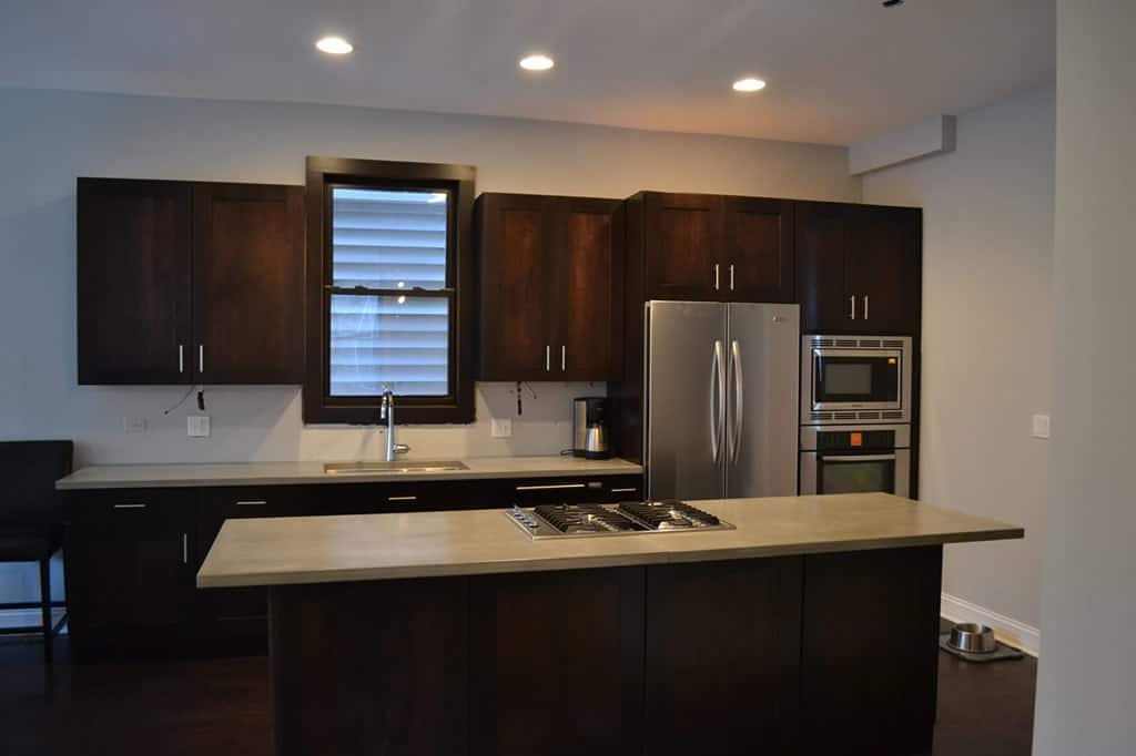 Contemporary Kitchen Lakeview - Barts Remodeling Chicago IL