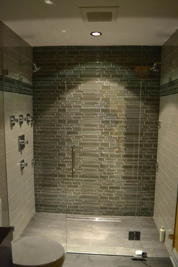 bathroom glass tile designs modern bathroom lakeview il barts remodeling chicago il 238